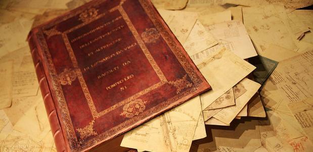 Codex Atlanticus van Leonardo Da Vinci