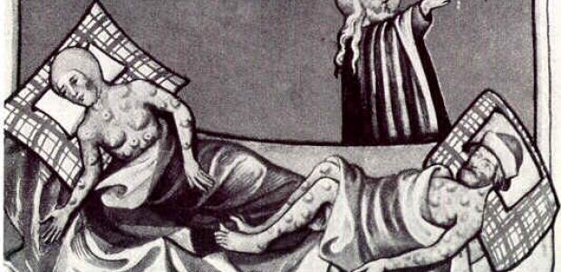 Hoe ontstonden de eerste twee pestuitbraken in Europa?