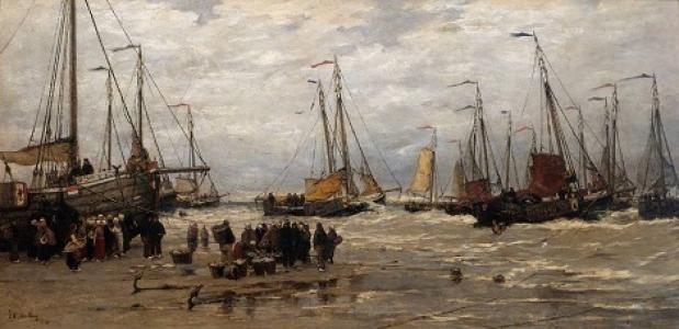 Rampen in de visserij