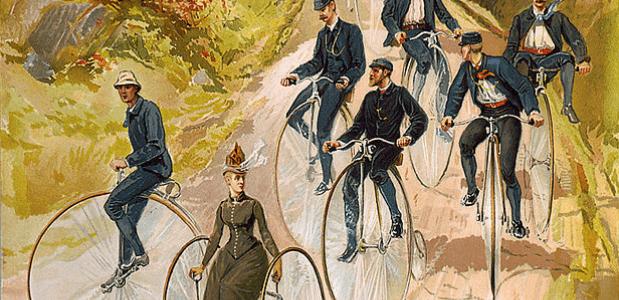 Hoge Bi geschiedenis fiets