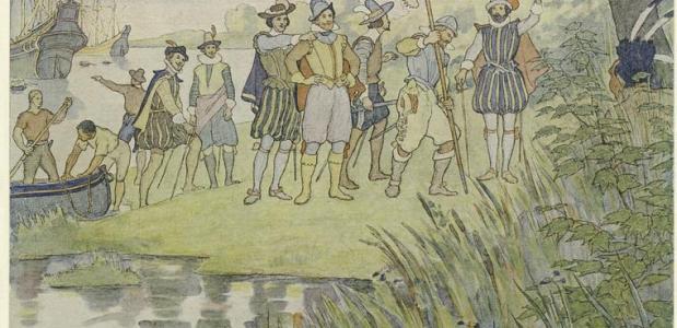 John Smith in Jamestown
