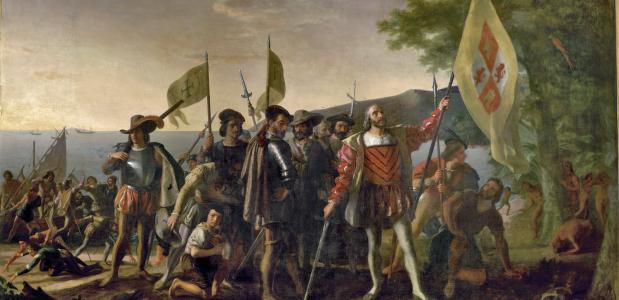 Landing of Columbus (Wikimedia Commons)