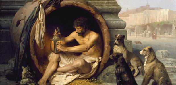 Diogenes. Jean-Léon Gérôme, via Wikimedia Commons