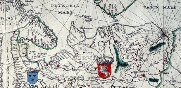 Het gebied dat door Brunel werd bereisd