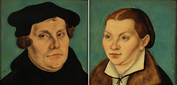 Maarten Luther en Katharina von Bora