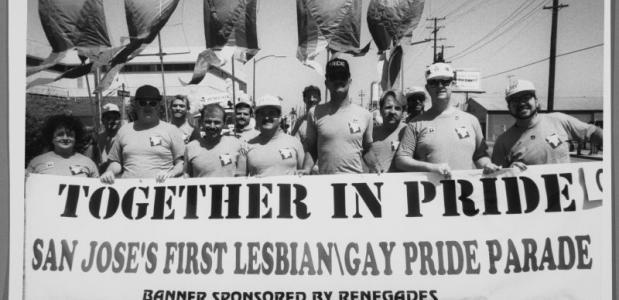 Eerste gay pride