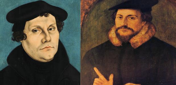 Luther en Calvijn