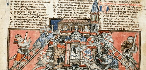 Kruisvaarders veroveren Antiochië