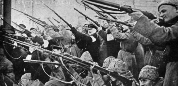 Russische revolutie in beeld