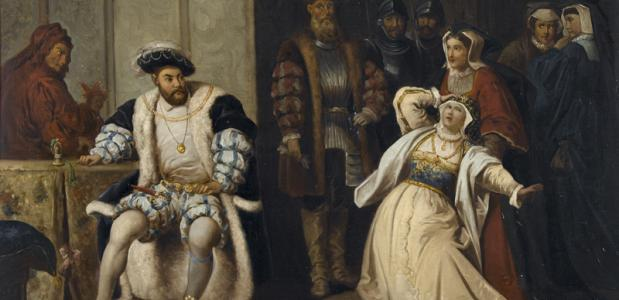 Hendrik VIII en Catharina van Aragon