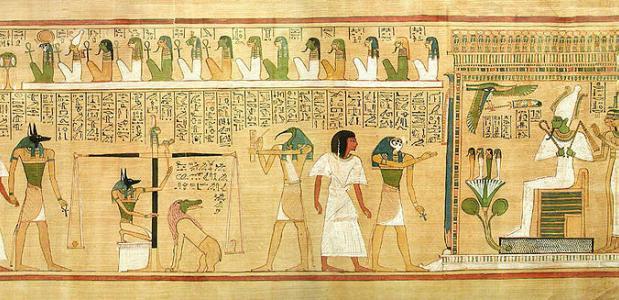 egyptische goden en het leven na de dood | isgeschiedenis