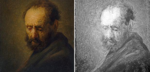 Infraroof Rembrandt