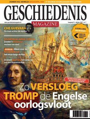 Geschiedenis Magazine: Zo versloeg Trom de Engelse oorlogsvloot