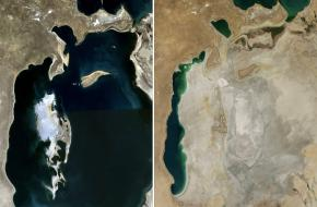 Aralmeer Milieu Kazachstan Oezbekistan