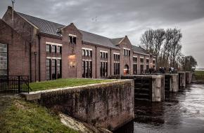 Het Ir. D.F. Woudagemaal in Lemmer in Friesland