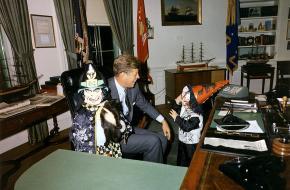 Halloween bij President Kennedy