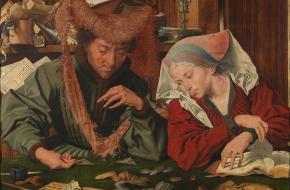 geschiedenis van geld lenen