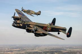 Lancaster bommenwerper WOII