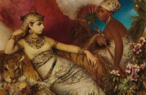 Was cleopatra mooi?