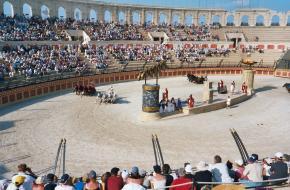 Wagenrennen bij de Romeinen