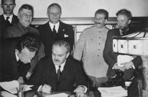 Molotov-Ribbentroppact 1939 Stalin