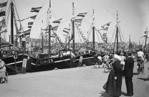 Vlaggetjesdag in Scheveningen