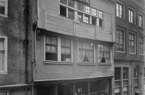De oude herberg De Aap in Amsterdam