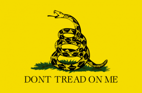 Gadsden flag via Wikimedia Commons