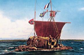 Het vlot van Heyerdahl: de Kontiki