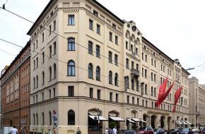 Hotel Vier Jahreszeiten, ontmoetingsplek voor het Thule-Gesellschaft