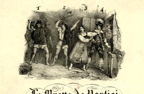 La Muette de Portici, begin van de Belgische opstand