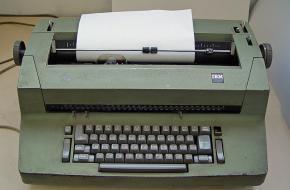 De Selectric II schrijfmachine