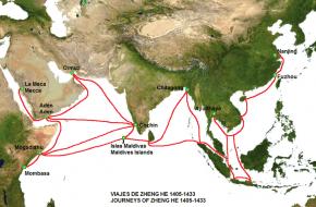 Zeekaart Zheng He