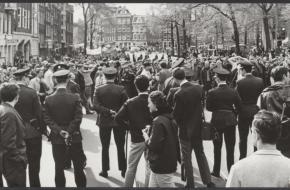 Protest tegen de Vietnamoorlog