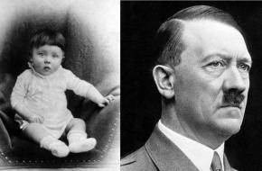 Adolf Hitler als kind en als führer