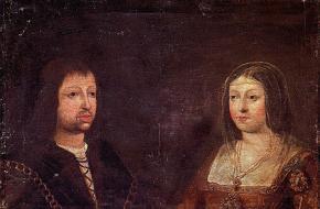 Ferdinand van Aragon en Isabella van Castilië.