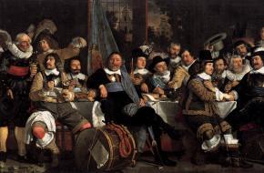 Bartholomeus van der Helst. Viering van de Vrede van Munster 1648