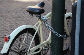 Uitvinding van het fietsslot