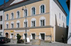 Hitlers geboortehuis in 2015