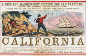 Goudkoorts in Californië