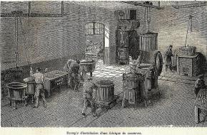 Blikfabriek vleesschandaal conservenblik