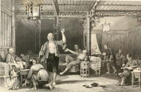 Opium rokers