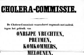 cholera in nederland