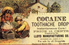 Geschiedenis cocaïne medicijn