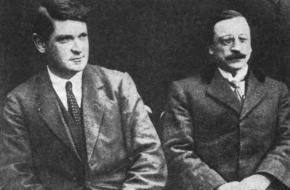 Michael Collins en Arthur Griffith