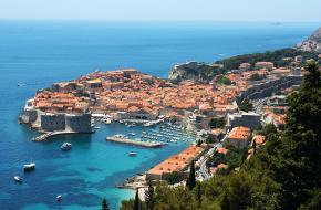 De prachtige stad Dubrovnik in Kroatië.