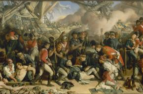 The Death of Nelson, Daniel Maclise
