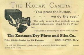Geschiedenis van de camera fotografie film