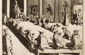 de Hertog van Alva in de Raad van Beroerten