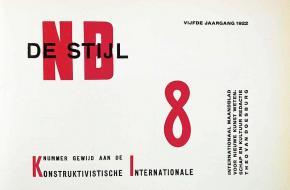 Kunstbeweging De Stijl begon toen het gelijknamige blad in 1917 werd gepubliceerd.